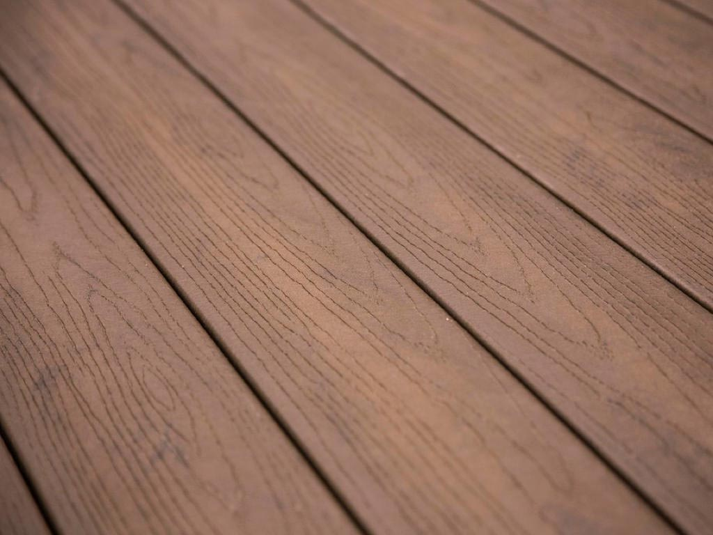 Infuse decking closeup