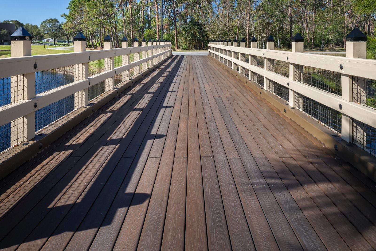 Boardwalk over water