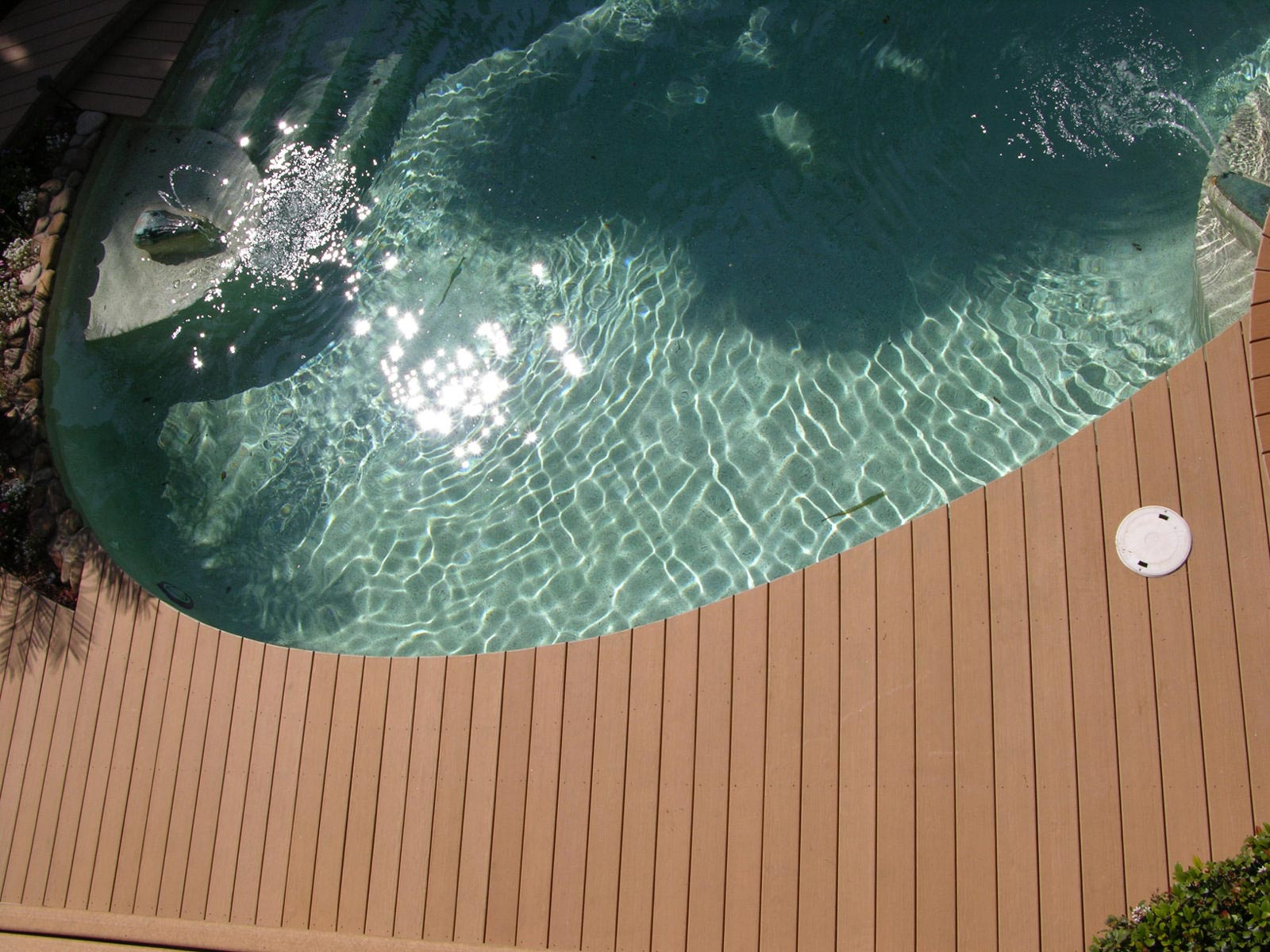 Pool with decking