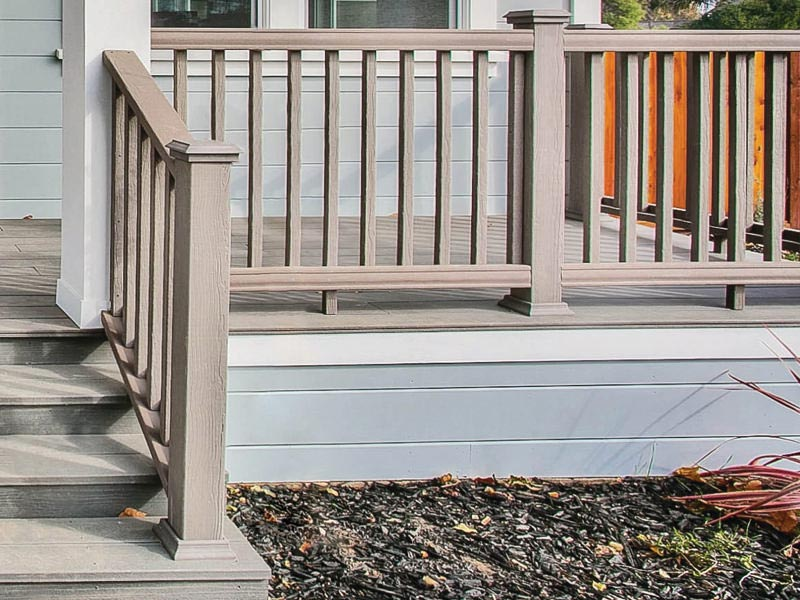 Deck Railing Porch Patio Options By Moistureshield